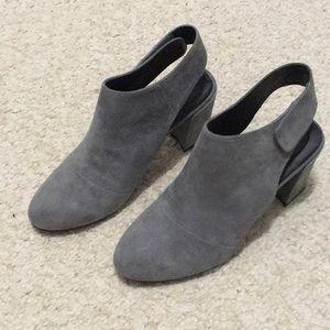 Adam Tucker Grey Suede Ankle Boot